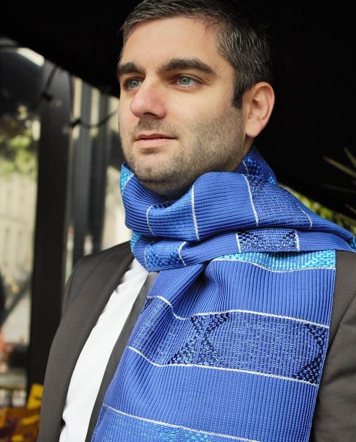 Lookbook-Oryah-2015-echarpe-bleu